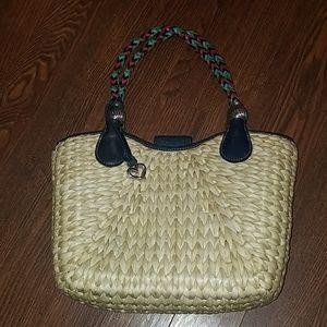 Brighton woven purse